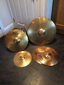 drum kit cymbols