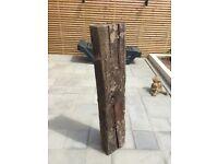 Large heavy original Sleeper log Very old sleeper type log