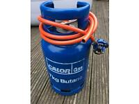 FULL 7kg Butane gas with hose and regulator