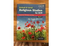 Religious Studies OCR Textbook A2