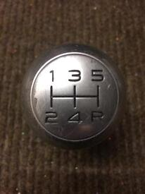 Peugeot 206 GTI/GT gear knob and gaiter.