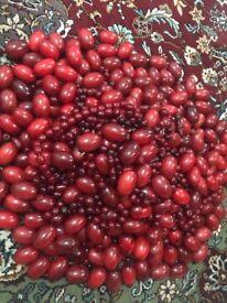 10KG of Cherry Amber beads