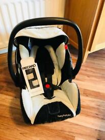 Recaro Baby Car Seat 0-9 months with Bugaboo adapters