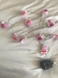 Peppa pig fairy lights