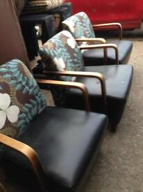 Chairs x4 matching