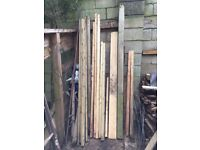 Timber, various sizes