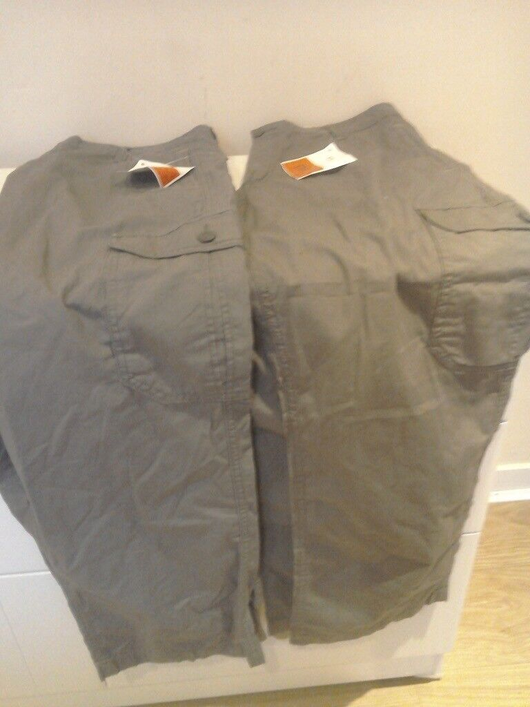 2 Pairs of M & S Lightweight Men's Trousers