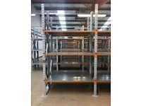 JOB LOT apex industrial long span shelving 3 meters high !( pallet racking , storage )