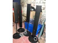 Sony Surround Sound Speakers and Amplifier