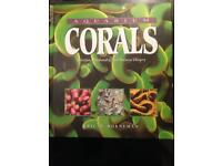 Marine coral hardback book. (Bible)