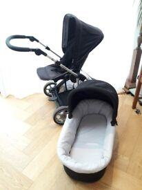 Mammas & Pappas 3 in 1 travel system - 2-way pram and bassinet