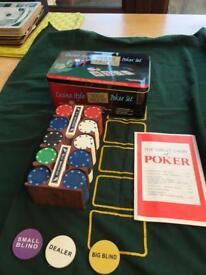Texas Hold 'em Poker Set - Quick Sale
