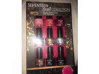 Seventeen nail collection
