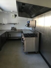 Commercial kitchen to rent near Blandford, very cheap!