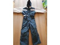 Blue & White 'Quenchua' Kids Ski Suit - Age ~8