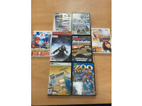 PC games and Wii games for sale