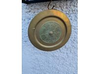 Mexican Brass Plate