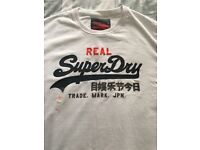 Brand New SuperDry White XXL T Shirt