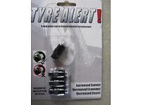 Brand new Tyre alert set