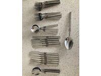 Set of Oneida Cutlery