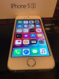 iPhone 5s 16gb unlocked Touch ID with box