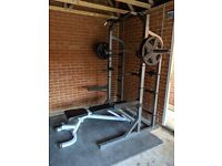 Weight bench in kent fitness gym equipment for sale gumtree