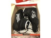 LONSDALE BLACK BOXING SHOES SIZE 3 NEW