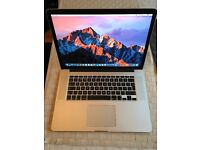 "MacBook Pro Retina 15"" - 2.8ghz i7 - 16gb Ram - 256gb SSD - Excellent condition only 55 cycles!"