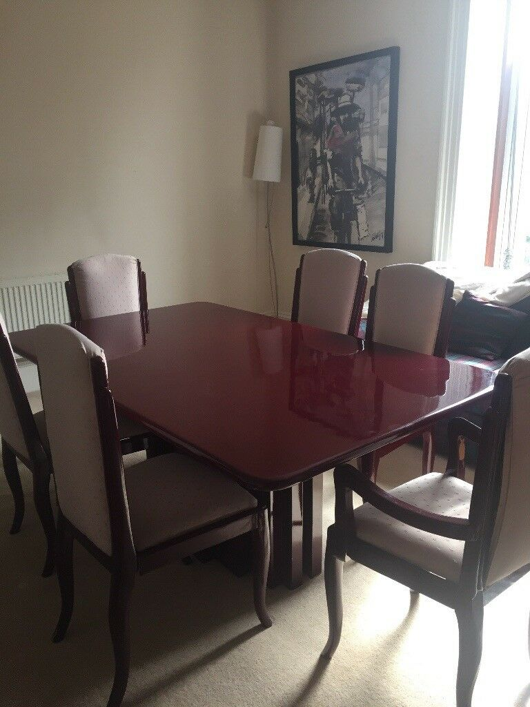 Dining Table For 6 Or 8 People Plus Matching Sideboard In Aberdeen