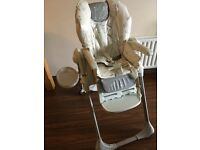 Chicco polly highchair high chair