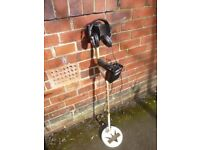 FISHER 1265 X MOTION METAL DETECTOR AND HEADPHONES