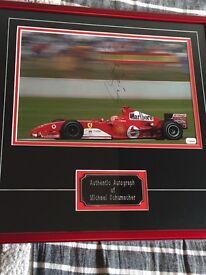 Memorabilla - Authentic signed autograph by Michael Schumacher