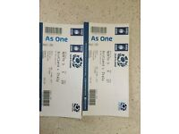 6 NATIONS RUGBY TICKETS - SCOTLAND V ITALY 18TH MARCH