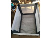 Mamas and papas travel cot only been used a few times with mattress