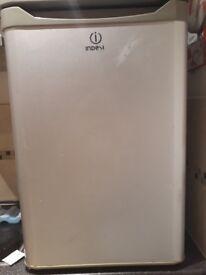 Small Indesit fridge freezer 54cm wide 83cm tall