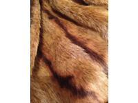 Lovely faux fur jacket size 16