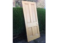 antique yellow pine doors (approx 90 years old)