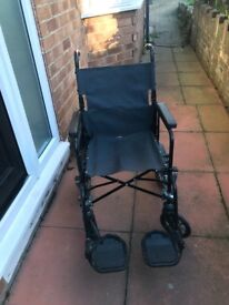 Wheelchair for sale. Good condition.