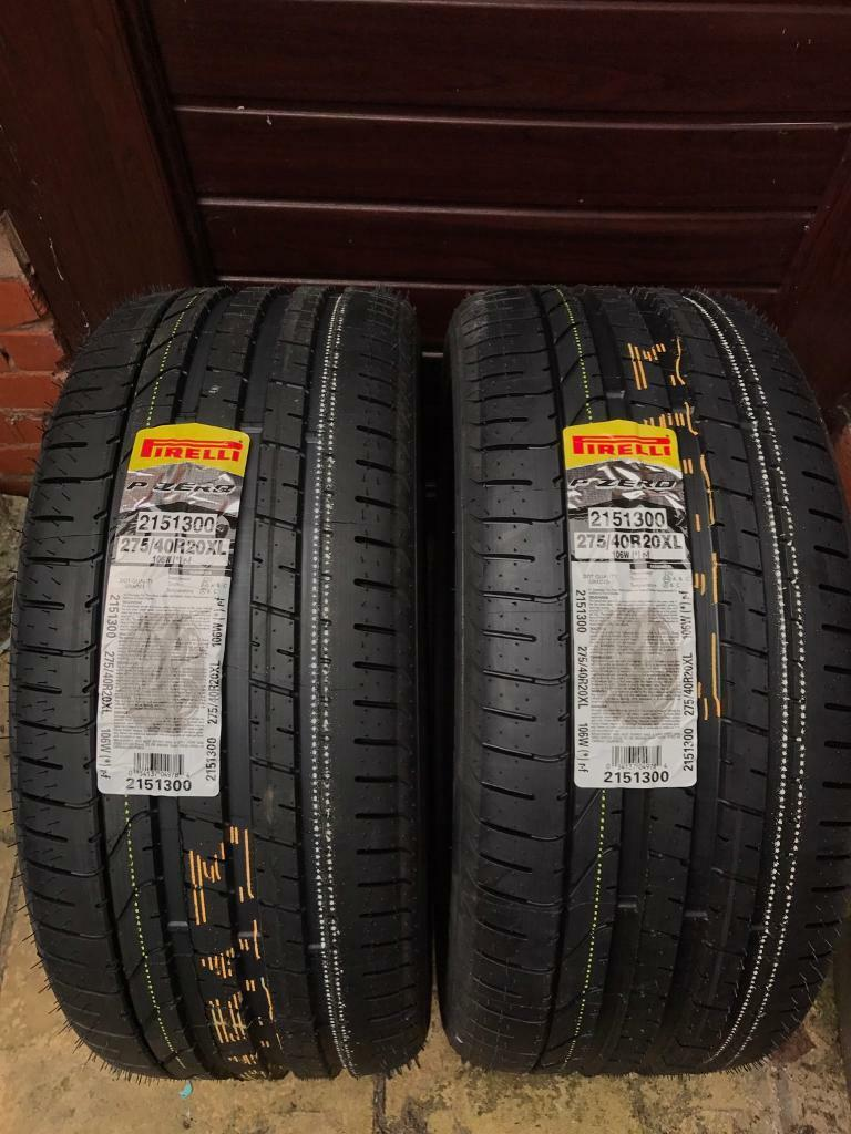 275/40/r20 pirelli run flat new tyres bmw x5/x6 | in wednesbury