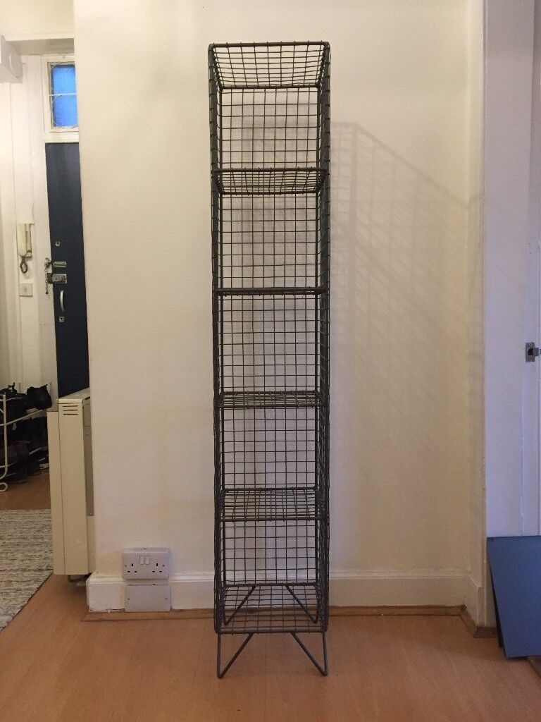 LOAF HIGHWIRE - Designer industrial style wire shelving unit, RRP ...