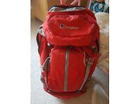 Red berghaus freeflow 35+8 rucksack