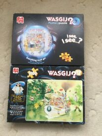 1000 piece Wasgij jigsaws