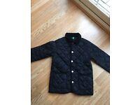 Benetton navy jacket size 7-8 y (130 cm)