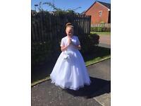 Girls communion dress aged 12