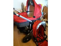 Immaculate uppababy pram
