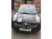 Nissan micra ideal for spares and repairs!