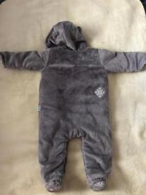 Baby snowsuit 6-9 months Mark&Spencer