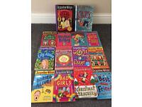 14 Jacqueline Wilson girls children's books..
