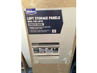 Loft Storage Panels 3 Pack x 2 New Unused
