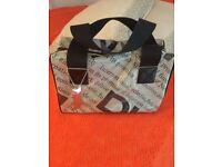 DKNY handbag,black and grey